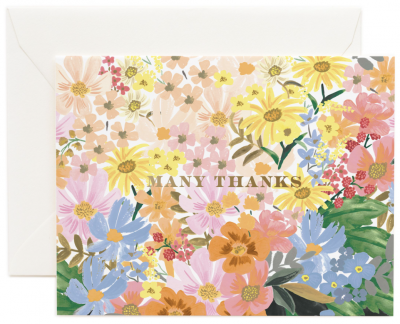 Marguerite Thank You Card Rifle Paper