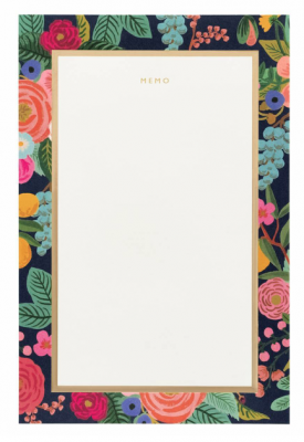 Garden Party Memo Notepad Rifle Paper