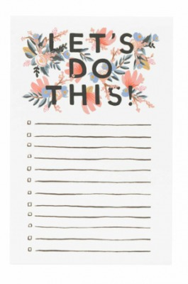 Let s do This Notepad - Rifle Paper Co.