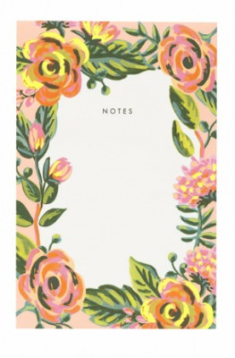 Jardin de Paris Notepad - Rifle Paper Co.