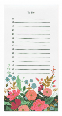 Floral Vines Market Pad - Rifle Paper Co.