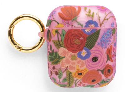 Clear Blush Garden Party AirPods Cases