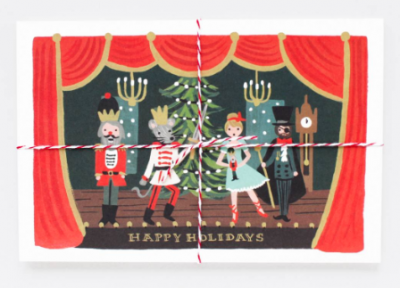 Nutcracker Postcards - Rifle Paper Co