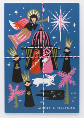 Nativity Postcards - Rifle Paper Co