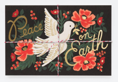 Peace on Earth Postcards - Rifle Paper Co.