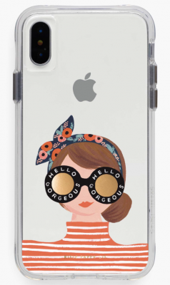 Clear Hello Gorgeous iPhone Cases iPhone