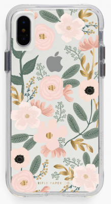 Clear Wildflowers iPhone Cases iPhone Hülle