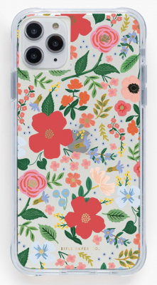 Clear Wild Rose iPhone Cases iPhone