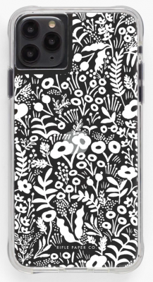 Clear Tapestry Lace iPhone Cases iPhone