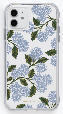 Clear Hydrangea iPhone Cases iPhone Hülle