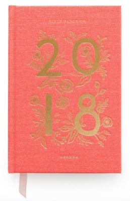 2018 Coral - Rifle Paper Co. Agenda