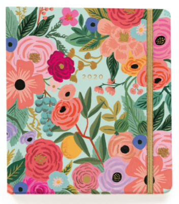 2020 Garden Party Covered Planner - Rifle Paper Co. Planner