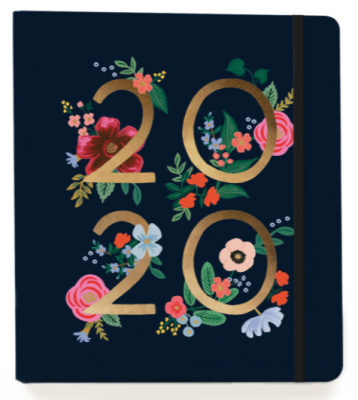 2020 Wild Rose Covered Planner - Rifle Paper Co. Planner