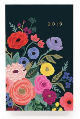 2019 Juliet Rose Pocket Agenda - Rifle Paper Co.