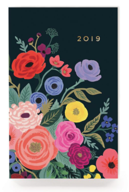 2019 Juliet Rose Pocket Agenda - Rifle Paper Co.
