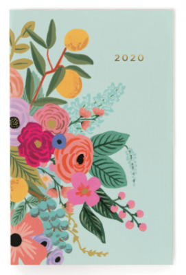 2020 Garden Party Pocket Agenda - Rifle Paper Co. Taschenkalender