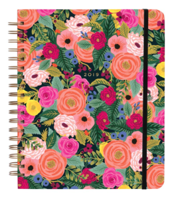2019 Juliet Rose Large Spiral Planner - Rifle Paper Co. Planner