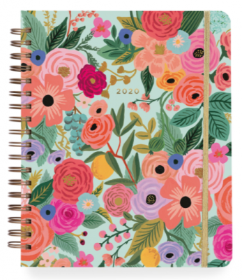 2020 Garden Party Large Spiral Planner - Rifle Paper Co. Planner