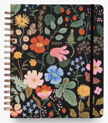 Strawberry Fields Large Spiral Planner Rifle
