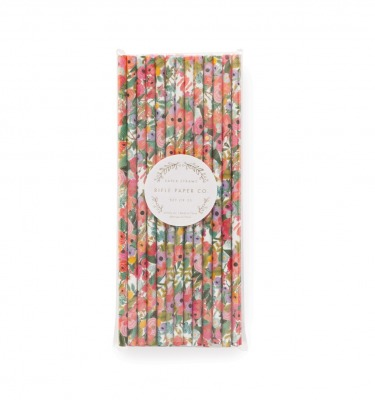 Garden Party Paper Straws Rifle Paper