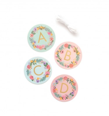 Garden Party Letter Garland - Rifle Paper Co.