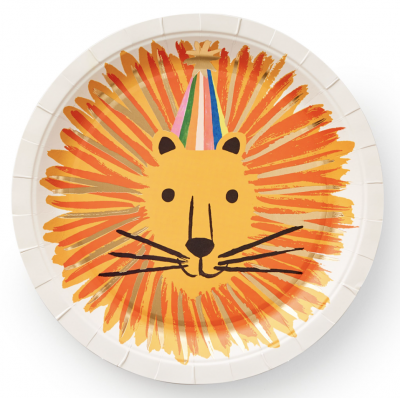 Party Animals Large Plates Rifle Paper