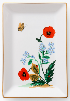 Popy Botanical Catchall Tray Rifle Paper