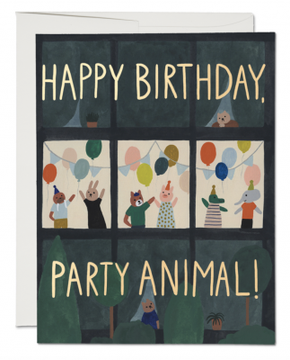 Animal House Card Red Cap Cards