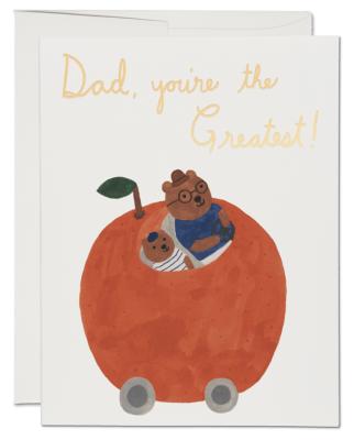 Orange Car Card Red Cap Cards