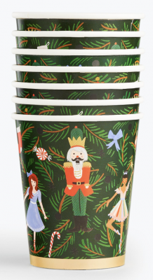 Nutcracker Party Cups Rifle Paper Co