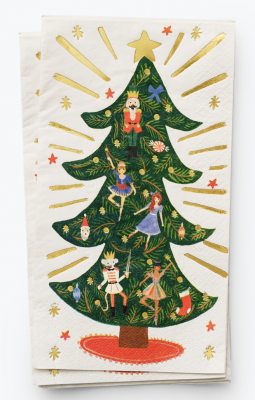 Nutcracker Guest Napkins Rifle Paper Co