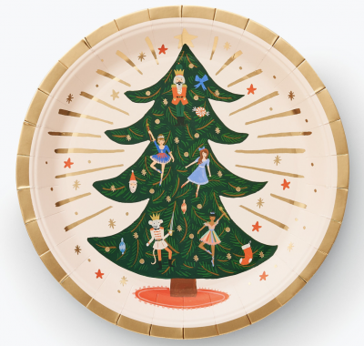 Nutcracker Large Plates Rifle Paper Co