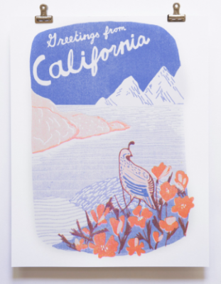 California Print - VE 2