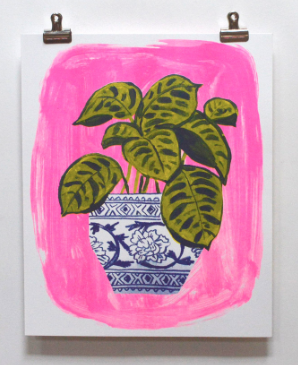 Plant Print - Yellow Owl Workshop