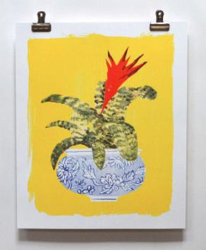 Bromelaid Print - VE 2