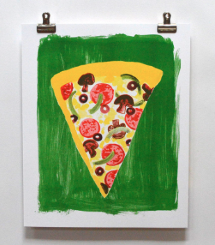 Pizza Print - Yellow Owl Workshop