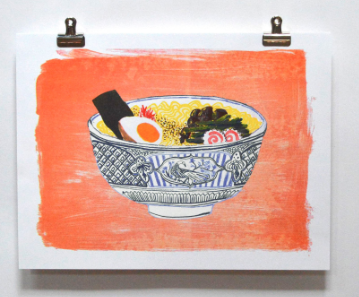 Ramen Print - Yellow Owl Workshop