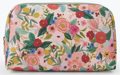 Garden Party Large Cosmetic Pouch Rifle
