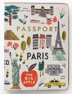 Bon Voyage Passport Holder Rifle Paper