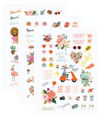 Sticker Sheets - Aufkleber Set