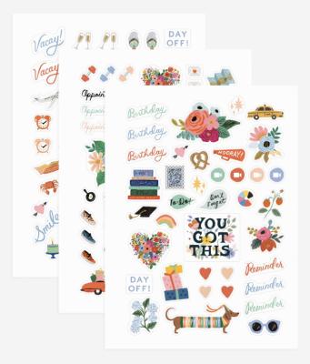 New Sticker Sheets - Aufkleber Set