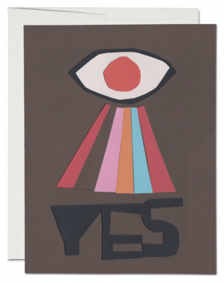 Yes Card - Red Cap Cards