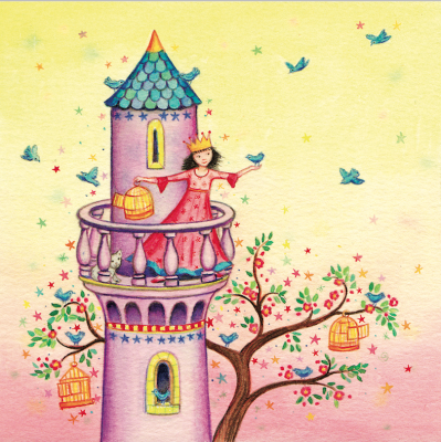 Princess Tower Card - VE 6