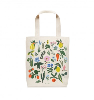 Herb Garden Tote Bag Rifle Paper