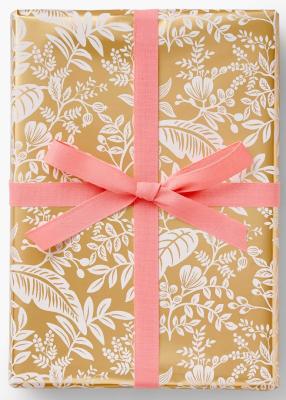 Canopy Gold Wrap - Geschenkpapier Rolle