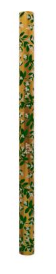 Mistletoe Gold Continuous Wrap Geschenkpapier Rolle
