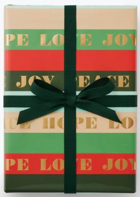Peace & Joy Wrap - Geschenkpapier