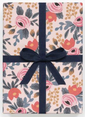 Blushing Rosa Wrap - Geschenkpapier Bögen