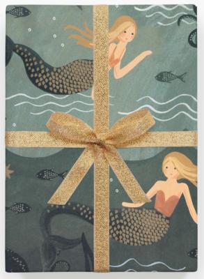 Mermaid Wrap - Geschenkpapier Bögen