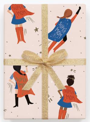 SuperMom Wrap - Geschenkpapier Bögen